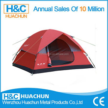 HC-CT010 2014 new design outdoor large canvas camping tent