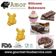 Easter Rabbit Slicone Chocolate Cake Baking Mold Bakeware Silicone Mold