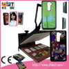 logo sublimation blank silicon rubber case , 2D metal silicone rubber tablet case for LG- Optimus G2 PC ,rubber phone case