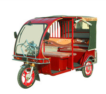 electric tricycle for passenger taxi rickshaw