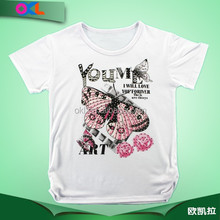 Most popular children clothing breathable kids t-shirt wholesale
