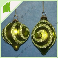 Outdoor garden glass ball hanging christmas decoration ^^^ Primitive glass ornaments christmas tree decoration