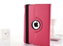 Multifunction PU leather rotating case for ipad mini