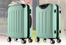 2015 ABS Luggage Travel Trolley Bag Aluminum Suitcase
