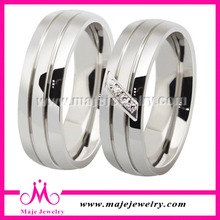 Hombres al por mayor anillos de acero inoxidable de la joyería 2014