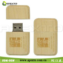 New wooden box of books OEM wood usb flash stick 8GB USB 2.0 with you idea logo printed on it