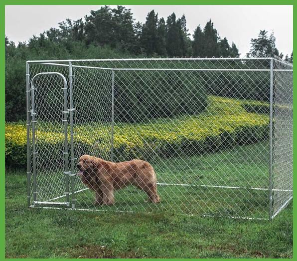 Cloture Jardin Chien #8: Grand Chien Run Chaîne Lien Animal Cage / Souple Portable Jardin Chien  Clôture Panneau