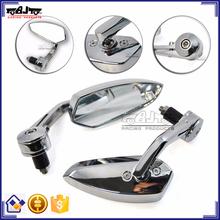 BJ-RM400-01 Motorcycle Body Kits Billet Aluminum Chrome Motorcycle Mirror for Kawasaki Ninja 250 300