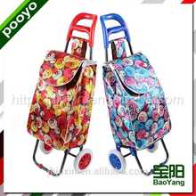 travel trolley luggage bag cut shopping tote bags