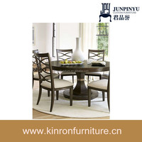 Factory outlets center wholesale hot sale oak solid wood dining tables and chairs