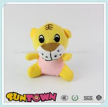 Tigre de peluche llavero de juguete, de dibujos animados suave tigre de peluche juguetes