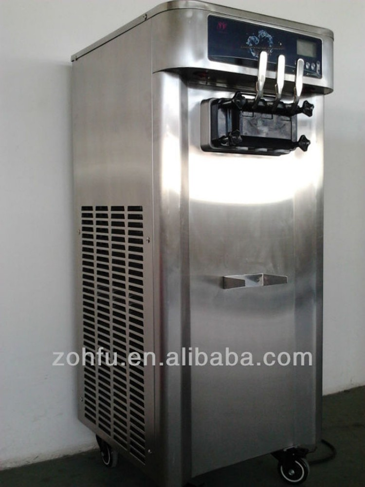 Stainless steel ice cream machines prices cone