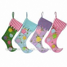Colourful Baby 1st Christmas Stocking