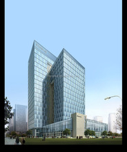 Aluminum glass curtain wall with CE / ISO certification
