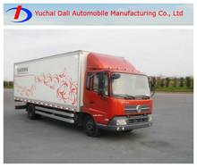 dongfeng tianjin 4x2 camión caja de camiones para la venta