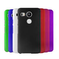 Rubberized Hard Plastic Back Case Cover for LG Nexus 5X With Free Screen Protector