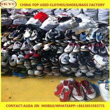 China second hand shoes supplier men tennis shoes