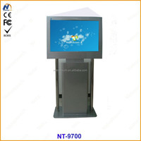 LCD display information kiosk touch screen