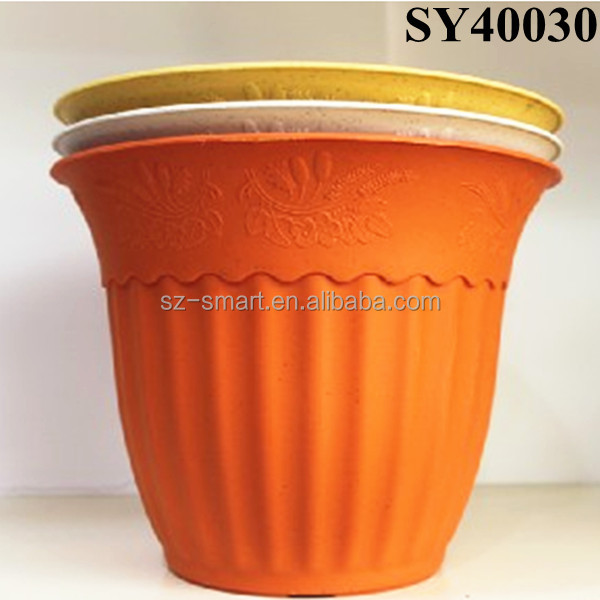 Pot For Plant Round Mini Plastic Flower Pots Wholesale