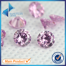 hot selling round cut cheap loose stone cz
