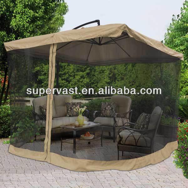 9ft patio offset mosquito net umbrella buy mosquito net