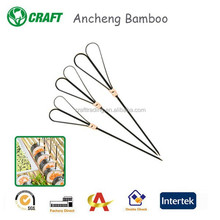12CM Bamboo decorative party pick