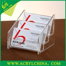 New Products 2015 Innovative Product Acrylic Card Holder, Name Card Holder, Clear Card Holder