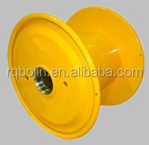 Mini cable reel drum for crane