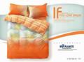 ملونة مطبوعة مجموعات الفراش والشراشف وأغطية السرير