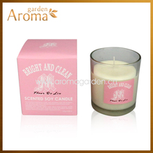 2014 new design 200G scented candle