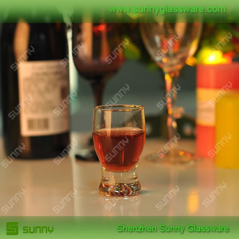 Promotional mini drinking glass for liquid shot glass
