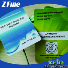Chinese Factory Custom plastic business card