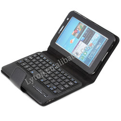 For Samsung Galaxy Tab 2 7.0 P3100 Bluetooth Keyboard Case,for samsung tab P3100 detachable keyboard case