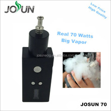 2015 high quality JOSUN 70watts ecig mod vape mechanical mod