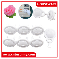 most selling plastic different types of socket cover baby safety products