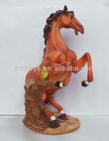 resin horse animal