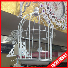 cheap decorative whit bird cage for sale