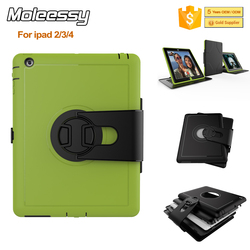 Factory For Apple iPad 234 Shock and Drop Proof Case, Dirt Resistant & 360 Degree Rotatable Stand Case for Apple iPad 234