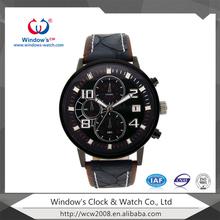 Luxury stainless steel chronograph Swizerland watch
