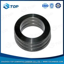 best supplier pr6.0 125x82x15mm tungsten carbide rolls for forming smooth steel wires
