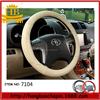 100% genuine leather car interior accessories car steering wheel cover