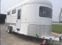Deluxe angle load horse trailer 3 horse L500 on sells now
