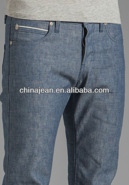 2015 yeni tasarım ham mavi kot pantolon erkek( jx3007)