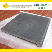Chinese Granite Swimming Pool Coping Stone ,Black Basalt Paving coping