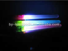 2013 led flashing glow dancing light stick bracelets in the dark with colorful for party