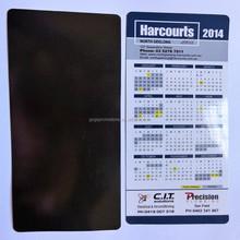 High quality advertising paper calendar fridge magnet, Free sample! New Design Promotional cheap personalized fridge magnets