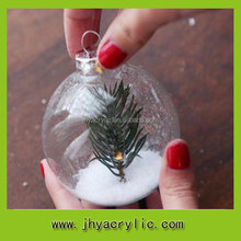 wholesale clear plastic ball christmas ornaments giant