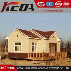 Prefab Steel Structure Villa Beach Home House 213