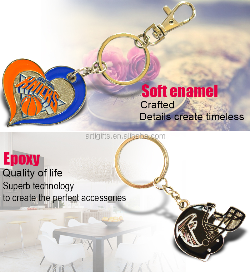 2015 Newest promotion gifts metal car key chain