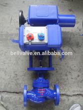 2-way automático operado eléctrica de control direccional de la válvula con el actuador